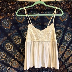 American Eagle Crochet Tank Top